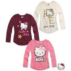 Tričko Hello Kitty bordó