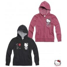 Mikina Hello Kitty bordó